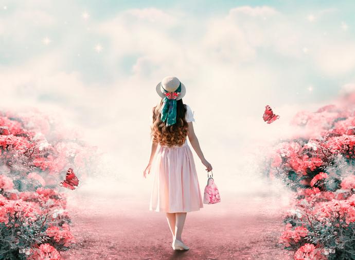 花畑の夢は恋を暗示しているのかも(写真:iStock)
