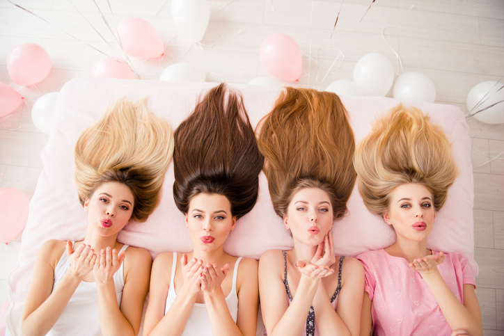 毎日のケアで美髪をゲット♡(写真:iStock)