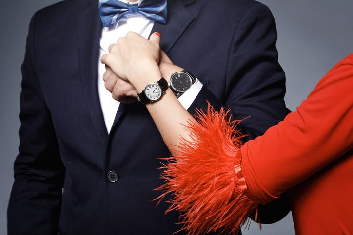 デキる男性は自分にふさわしい女性を選ぶ(写真:iStock)