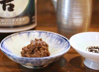「ホタルイカのふきのとう味噌」旬の素材爆発の究極のツマミ