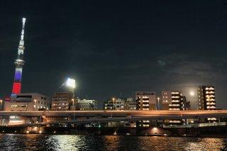 満月と東京スカイツリーの話 2021.5.9(日)