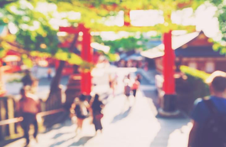 神社に行ってみよう(写真:iStock)