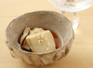 「牡蠣の酒蒸し」冷やして食べることでうま味をぎゅっと凝縮