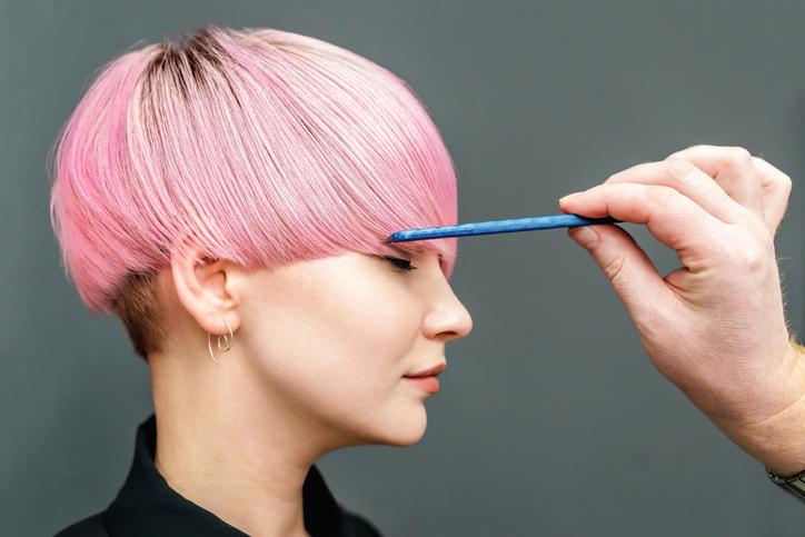 大胆な髪色にも(写真:iStock)