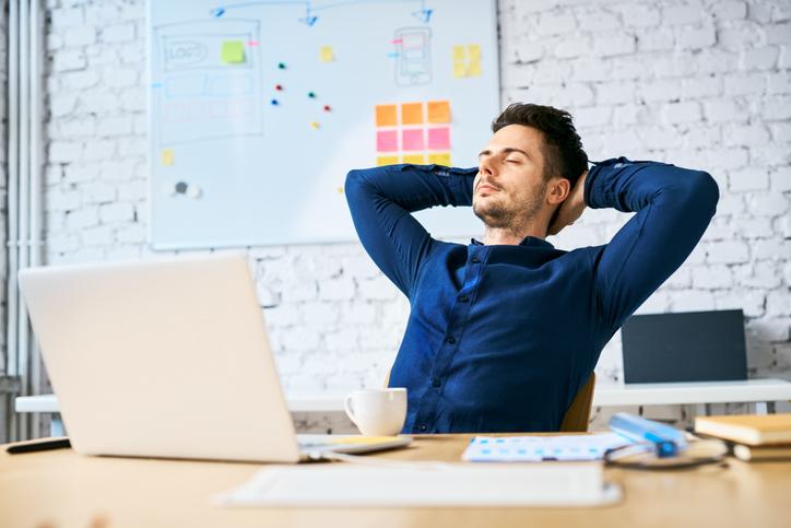 休憩中だって仕事のことを考えている(写真:iStock)