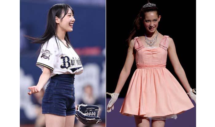 ジャニーズ相手に二股報道のNMB48横野(左)とハイスペックで巣ごもり愛のトラウデン(右)では風当たりも違う?/(C)日刊ゲンダイ