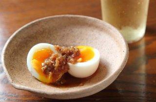 「半熟卵 豆板醤とレモンたれ」コクと深みがすごい万能ダレ