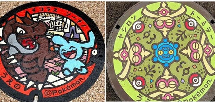 マンホールは路上の芸術だ!(C)コクハク