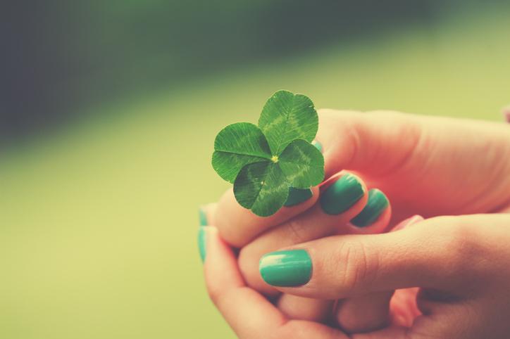 ラッキーは自分で作るものかもしれない(写真:iStock)