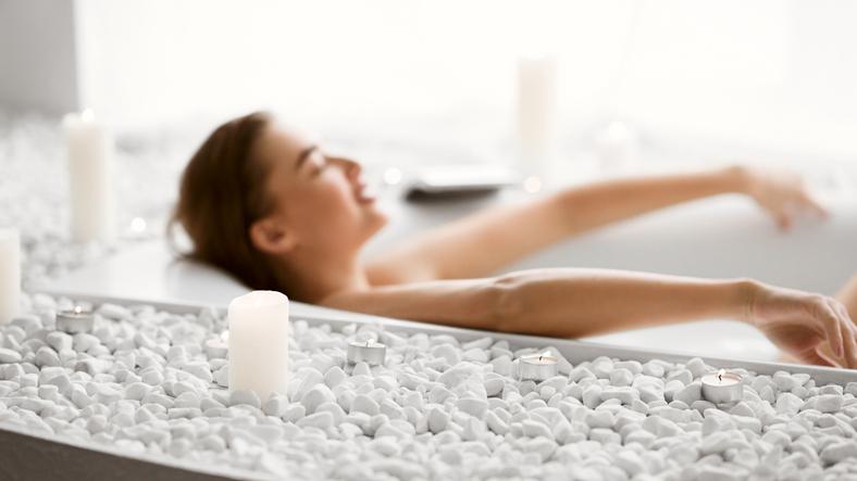 お風呂で自分の時間を確保(写真:iStock)