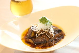 「ナスと豚ひき肉の甘味噌炒め」白ご飯にのせても美味しい!