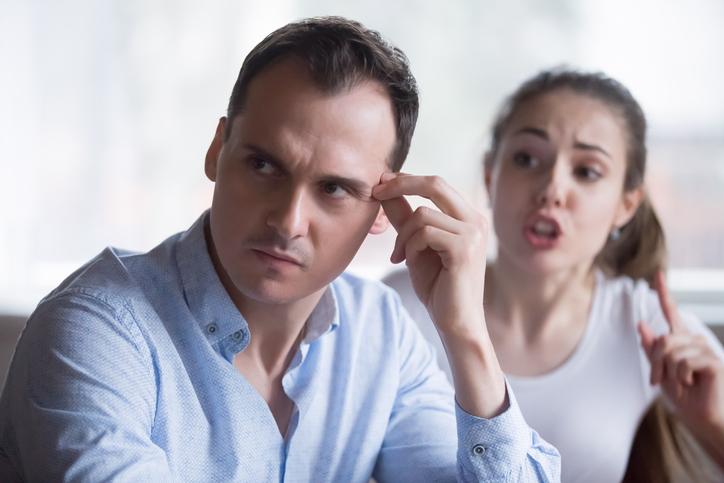 文句ばっかりの妻にうんざり(写真:iStock)