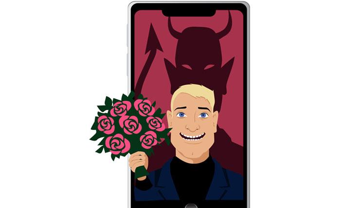 マッチングアプリに潜む悪魔に気を付けて(写真:iStock)