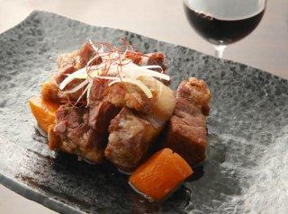 「豚肩ロースで作るふわトロ角煮」煮込み1時間の時短レシピ