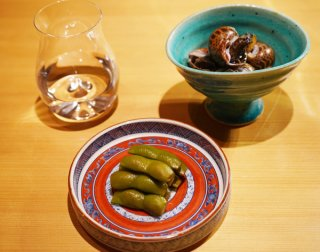 「枝豆あずま煮と梅貝旨煮」普通の枝豆とは味も風味も別物!